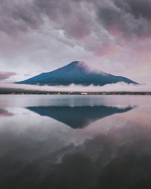 Free stock photo of dawn, fjord, fog