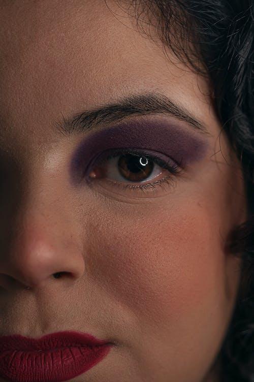 Free stock photo of adult, artistic makeup, auto retrato