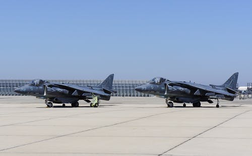 Gray Military Jets