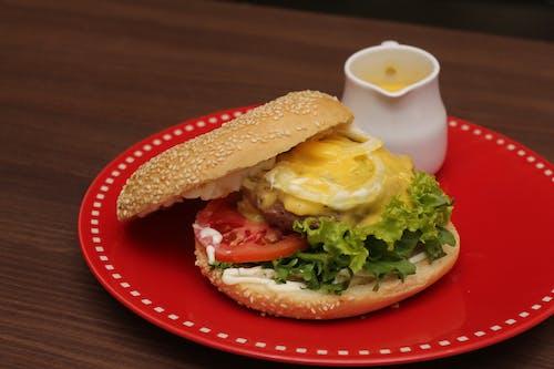 Free stock photo of cheeseburger
