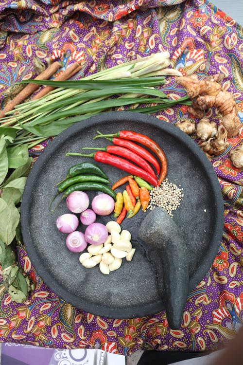 Free stock photo of sambal traditional