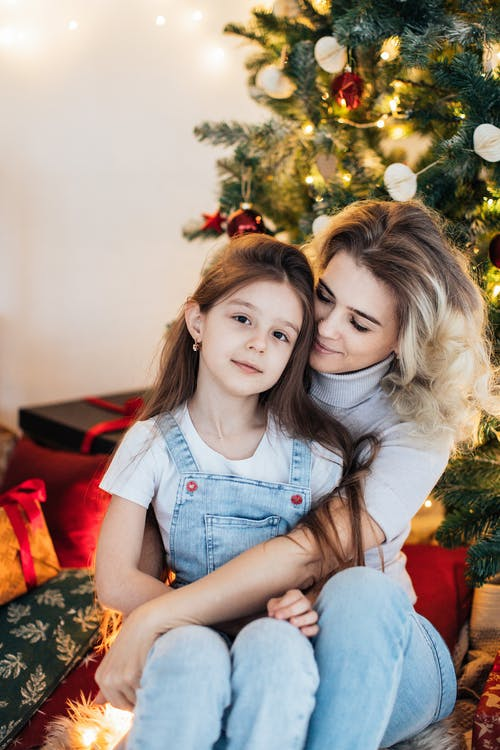 Free stock photo of beautiful, child, christmas