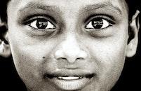 person, dark, eyes