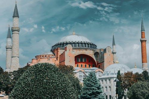 Бесплатное стоковое фото с архитектура, башня, большая мечеть святой софии