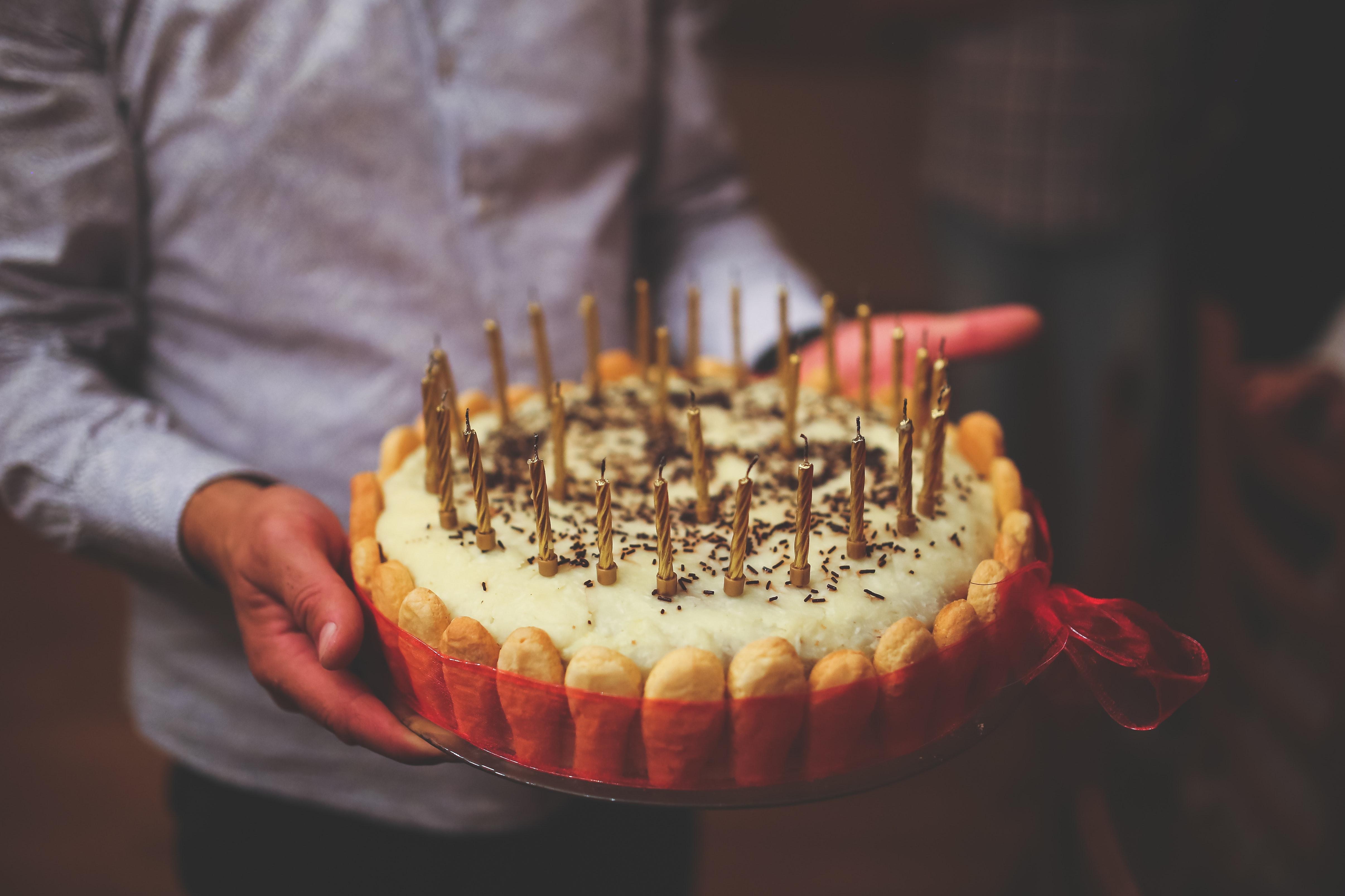 Gratis Stockfoto Van Cake Eten Fijne Verjaardag