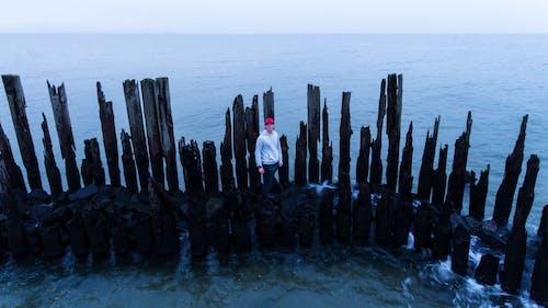 Free stock photo of alone, atlantic ocean, blue ocean