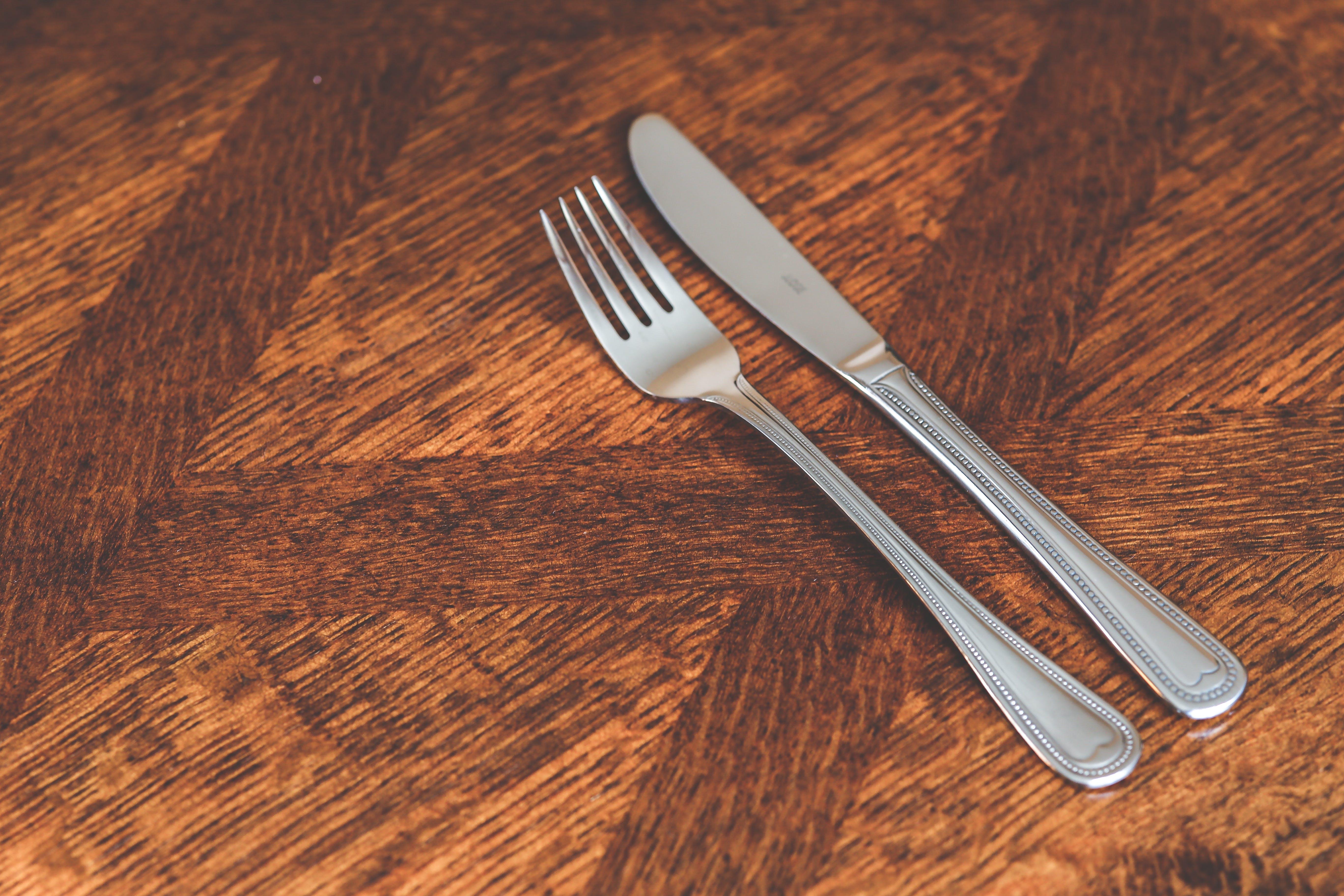 Silver Kinve & Fork