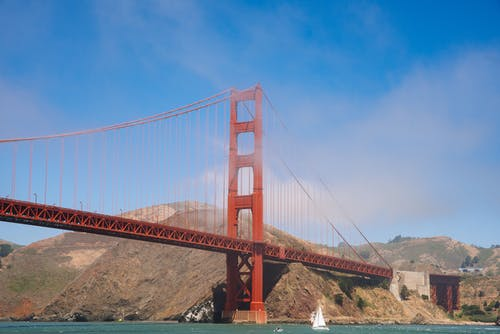 Free stock photo of architecture, bridge, california