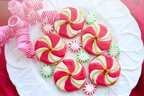 Pink and Yellow Flower Shaped Decors