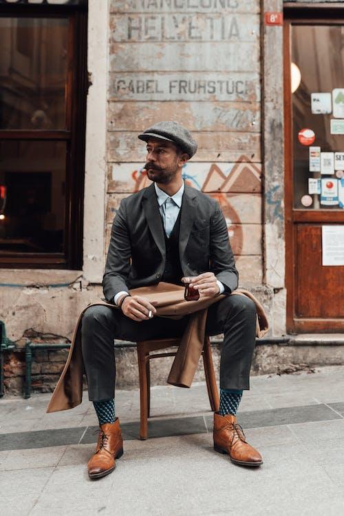 Fotobanka sbezplatnými fotkami na tému brada, čaj, celé telo