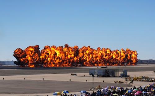 Free stock photo of airshow, bombs, california