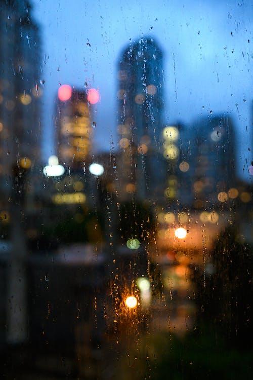 Gratis lagerfoto af bokeh, by, byens skyline