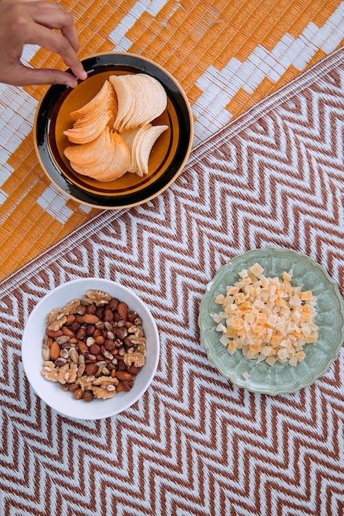 Snacks on Plates