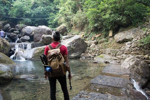 Fotos de stock gratuitas de cascada, fondo cascada, hombre