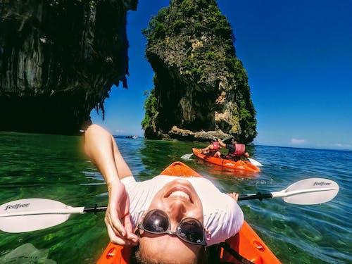 Free stock photo of boat, happiness, kayak, kayaking