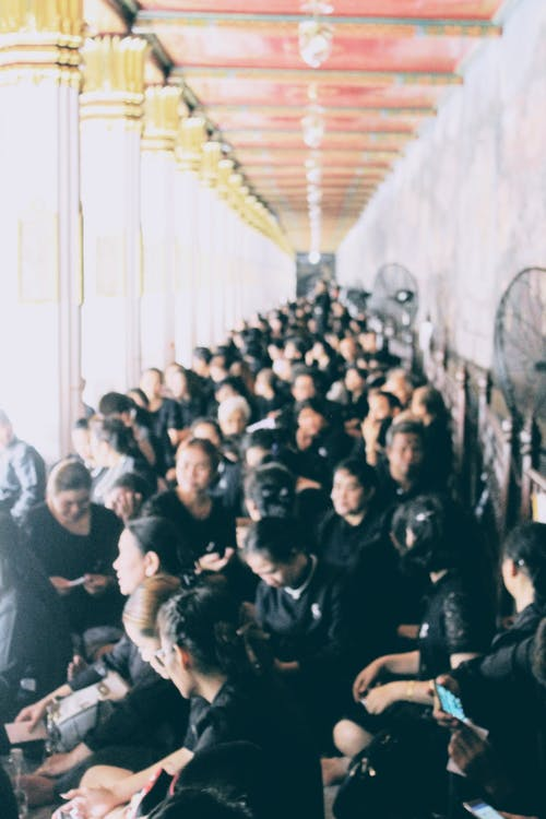 Free stock photo of crowded, mourning, people, temple