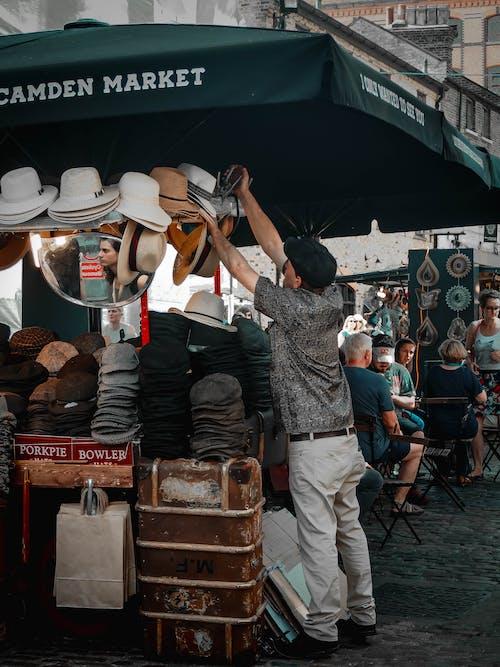 人, 倫敦, 商人 的 免费素材图片