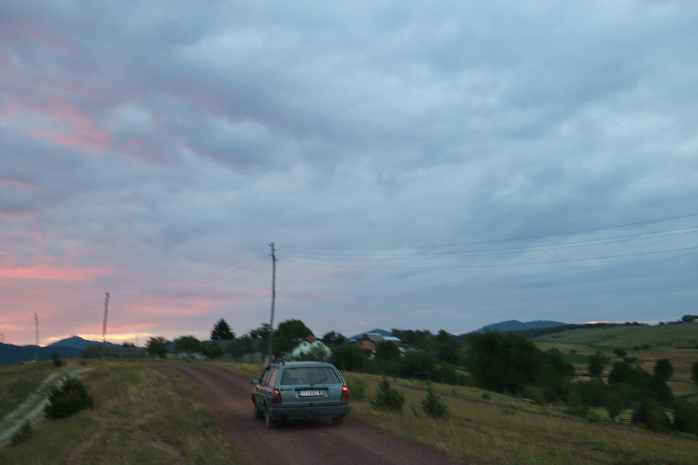 Free stock photo of beautiful, car, evening, evening-sky