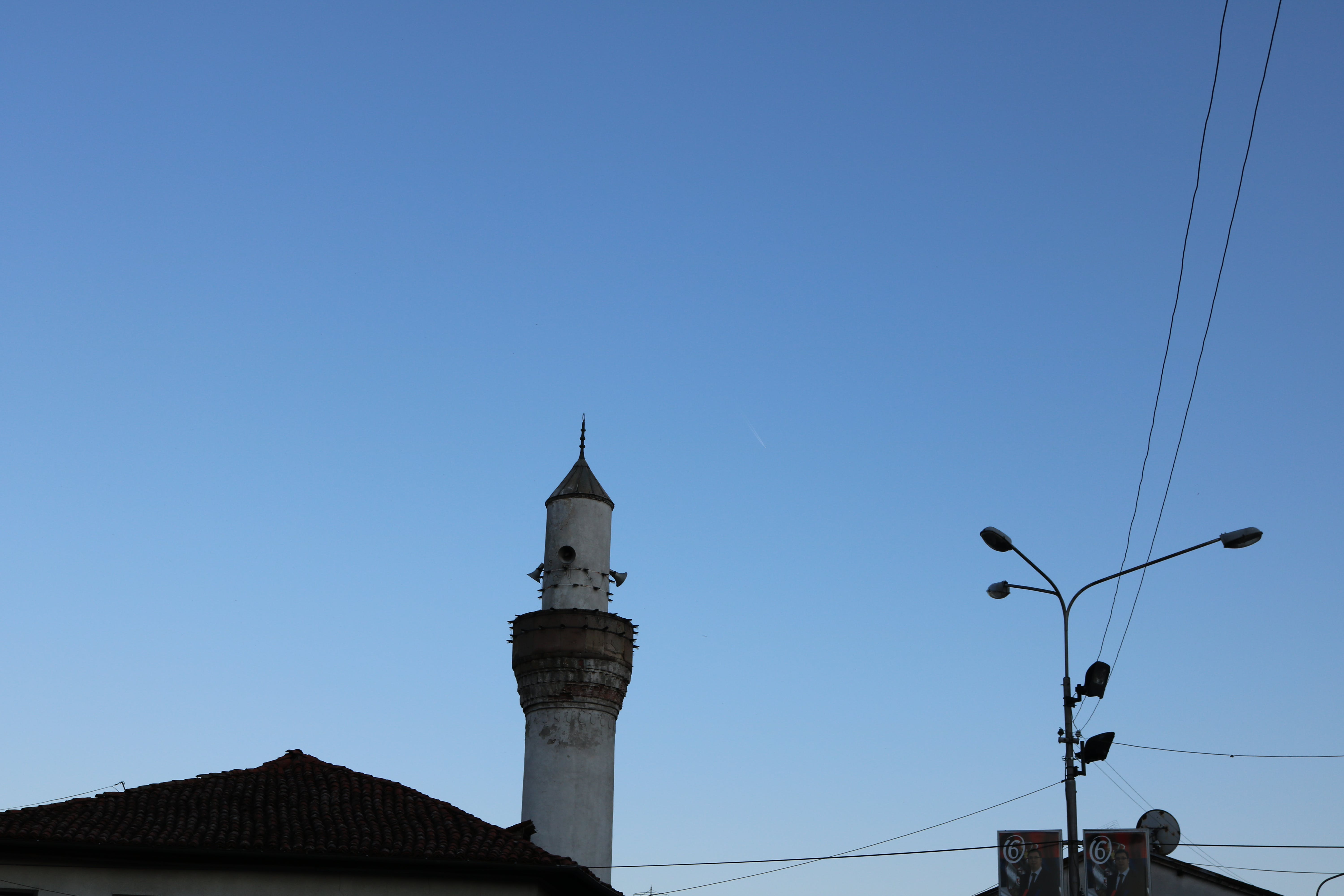 Free stock photo of mosque, Serbia, sky