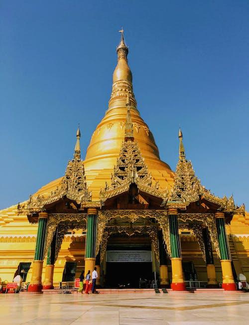 Free stock photo of buddhism, burma, golden