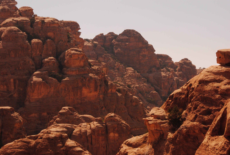 arid, canyon, daylight