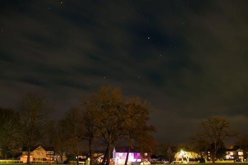 Immagine gratuita di campo, cielo, cielo notturno