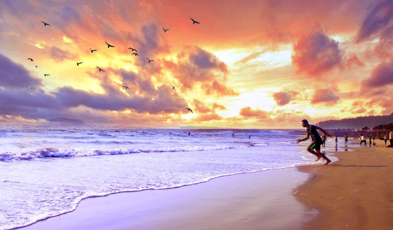 breh, krajina pri mori, kývať