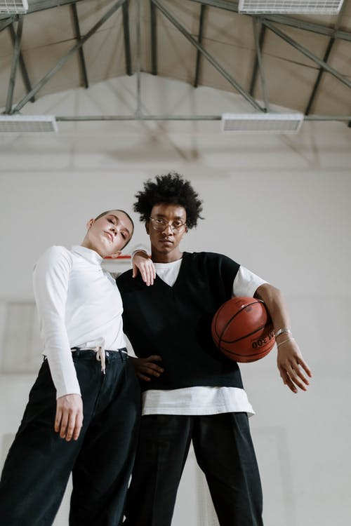 Free stock photo of activity, basketball ball, college