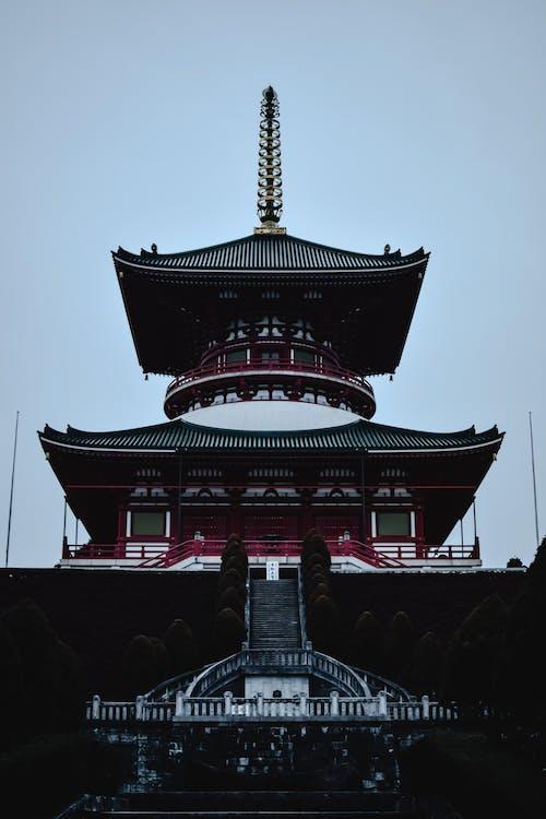 Free stock photo of architecture, asia, buddhism