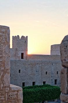 Free stock photo of city, sunset, landmark, buildings