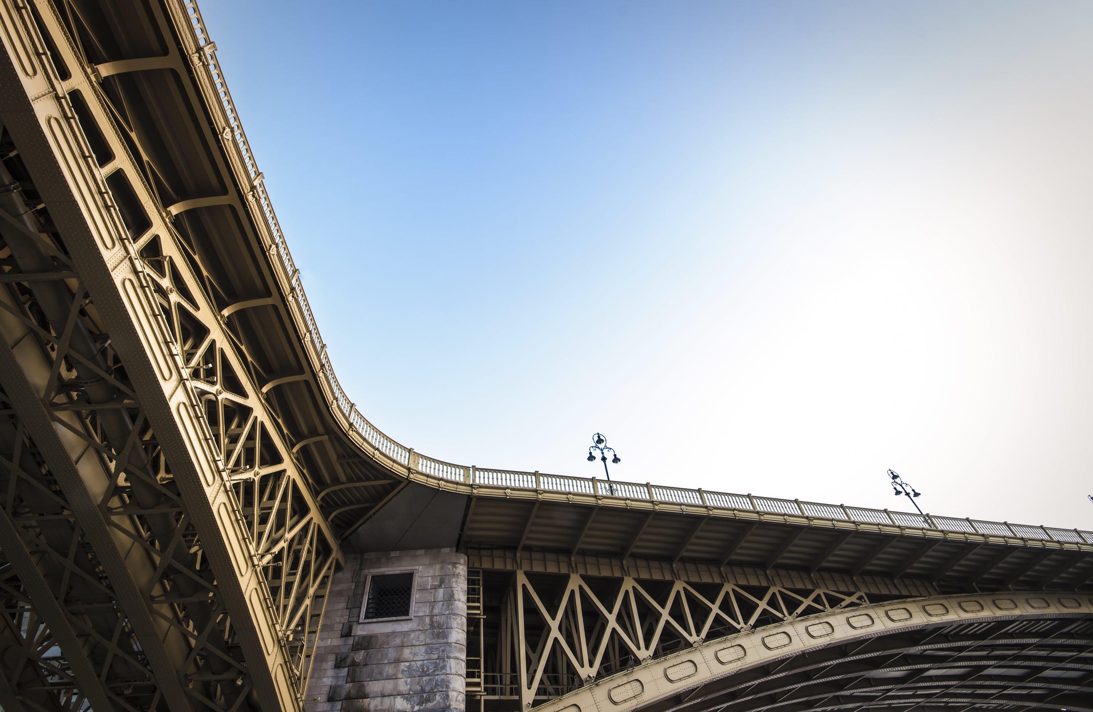 Beige Metal Bridge