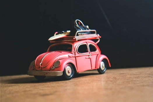 Red Volkswagen Toy