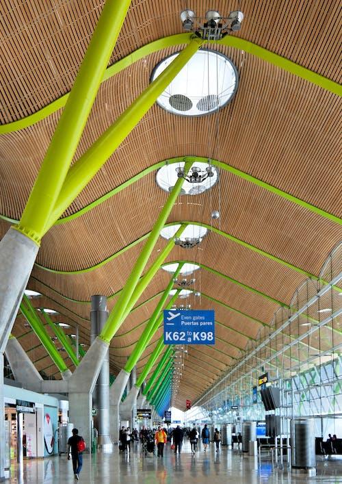 Foto profissional grátis de aeroporto, arquiteto, arquitetura