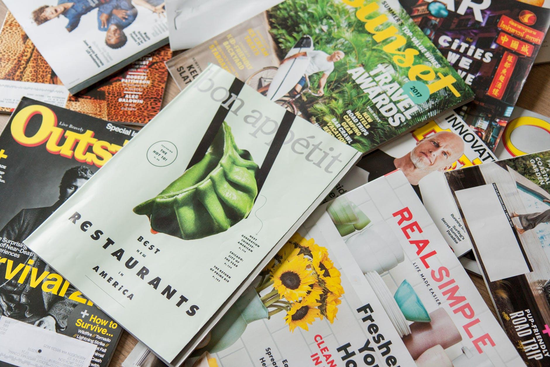 Ilustrasi majalah.