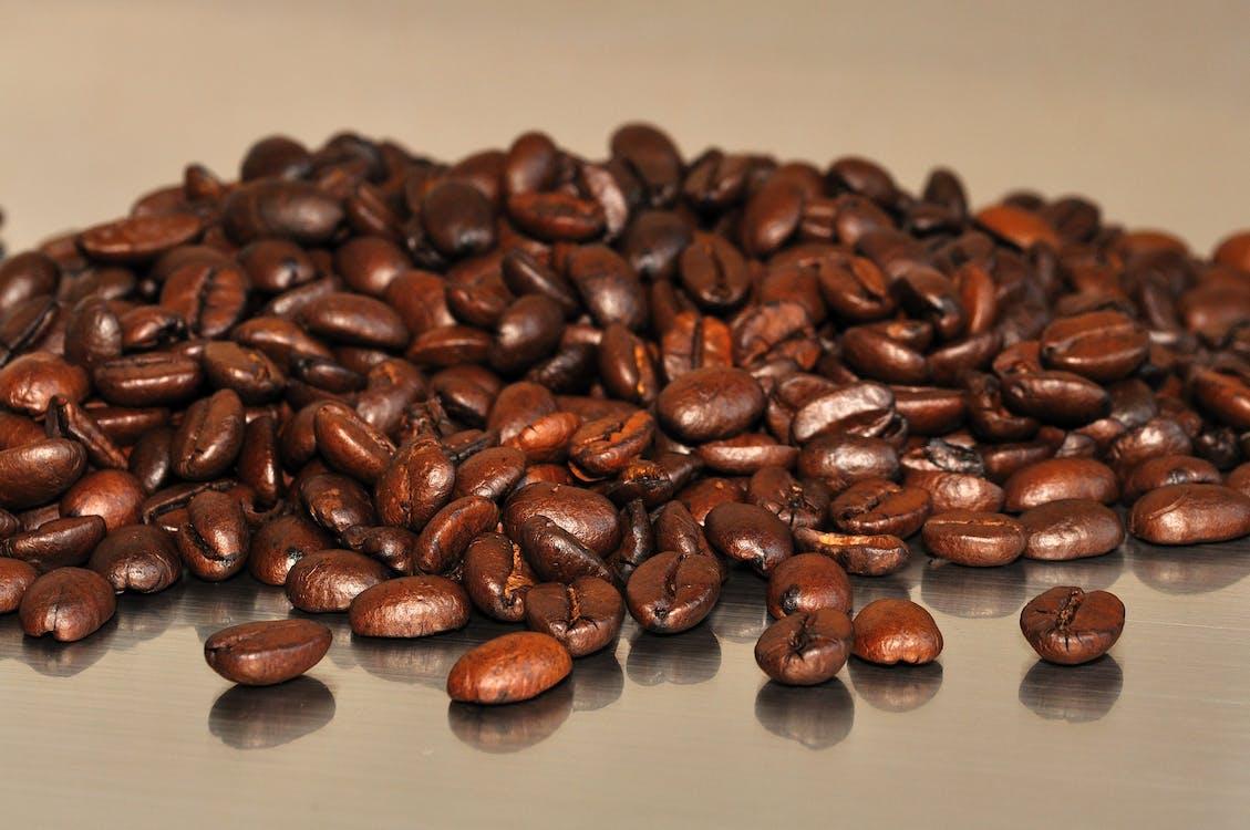 hnedá, káva, kávové zrná