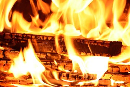 Бесплатное стоковое фото с горение, дерево, огонь, пламя
