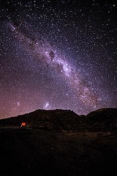 Free stock photo of nature, sky, dark, mountain