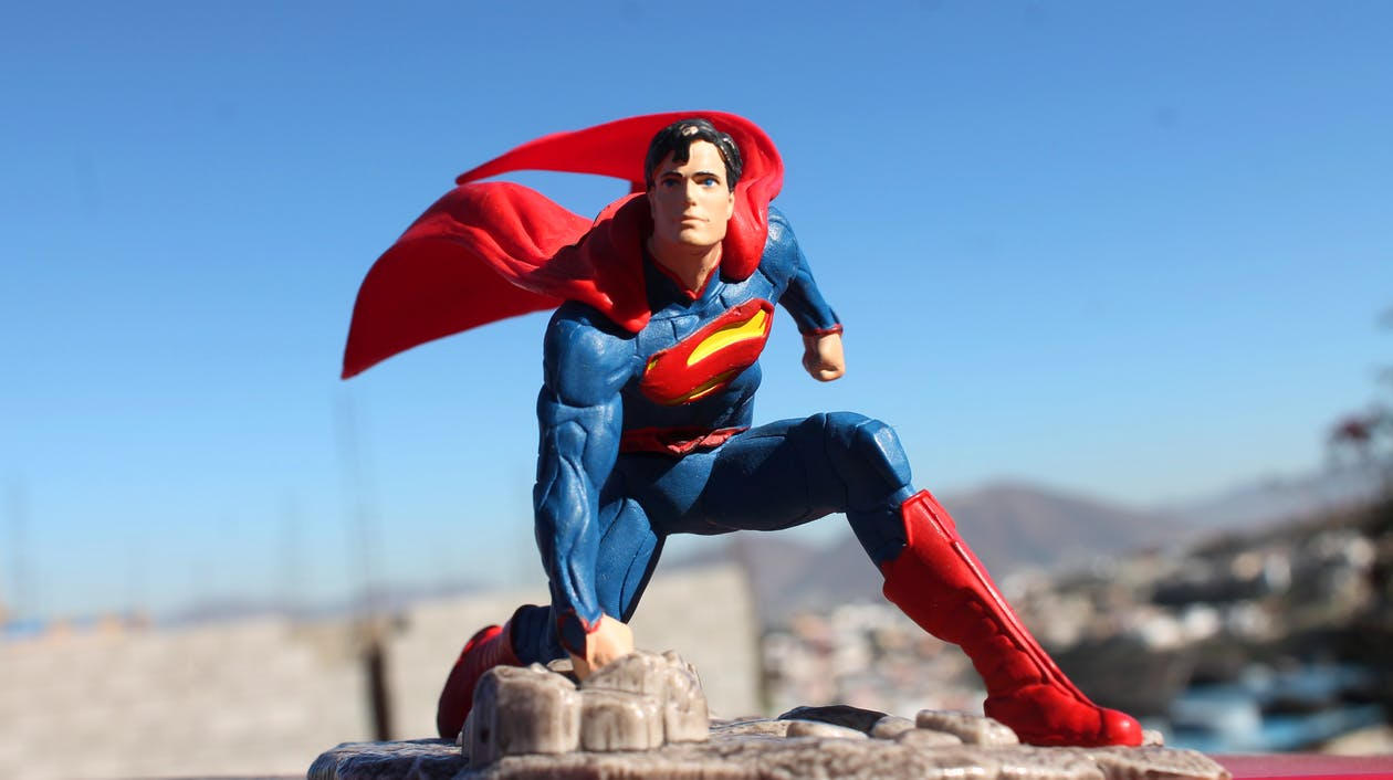 Free stock photo of comic, superman