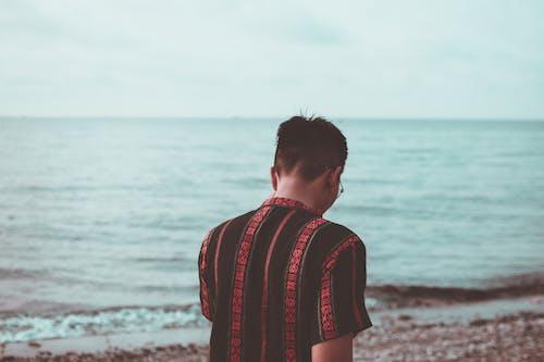 คลังภาพถ่ายฟรี ของ การเดิน, คน, คลื่น, ชายหาด