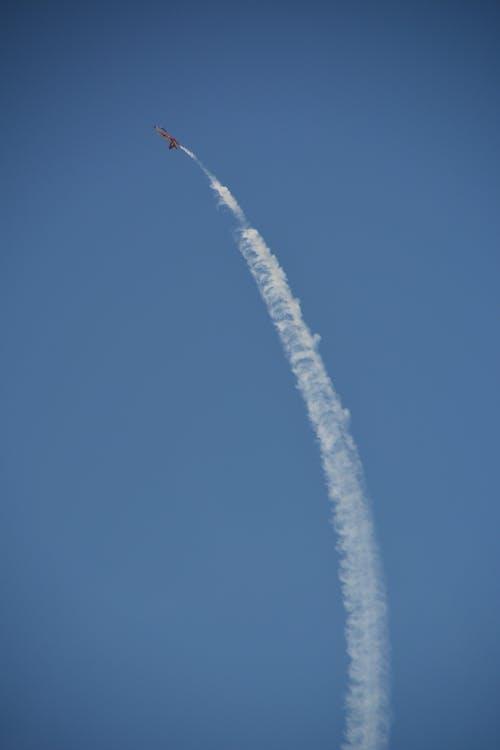 Immagine gratuita di acrobazie aeree, aeroplano, aria