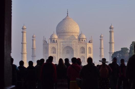 People Looking Mosque