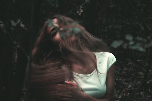 Free stock photo of nature, woman, dark, girl