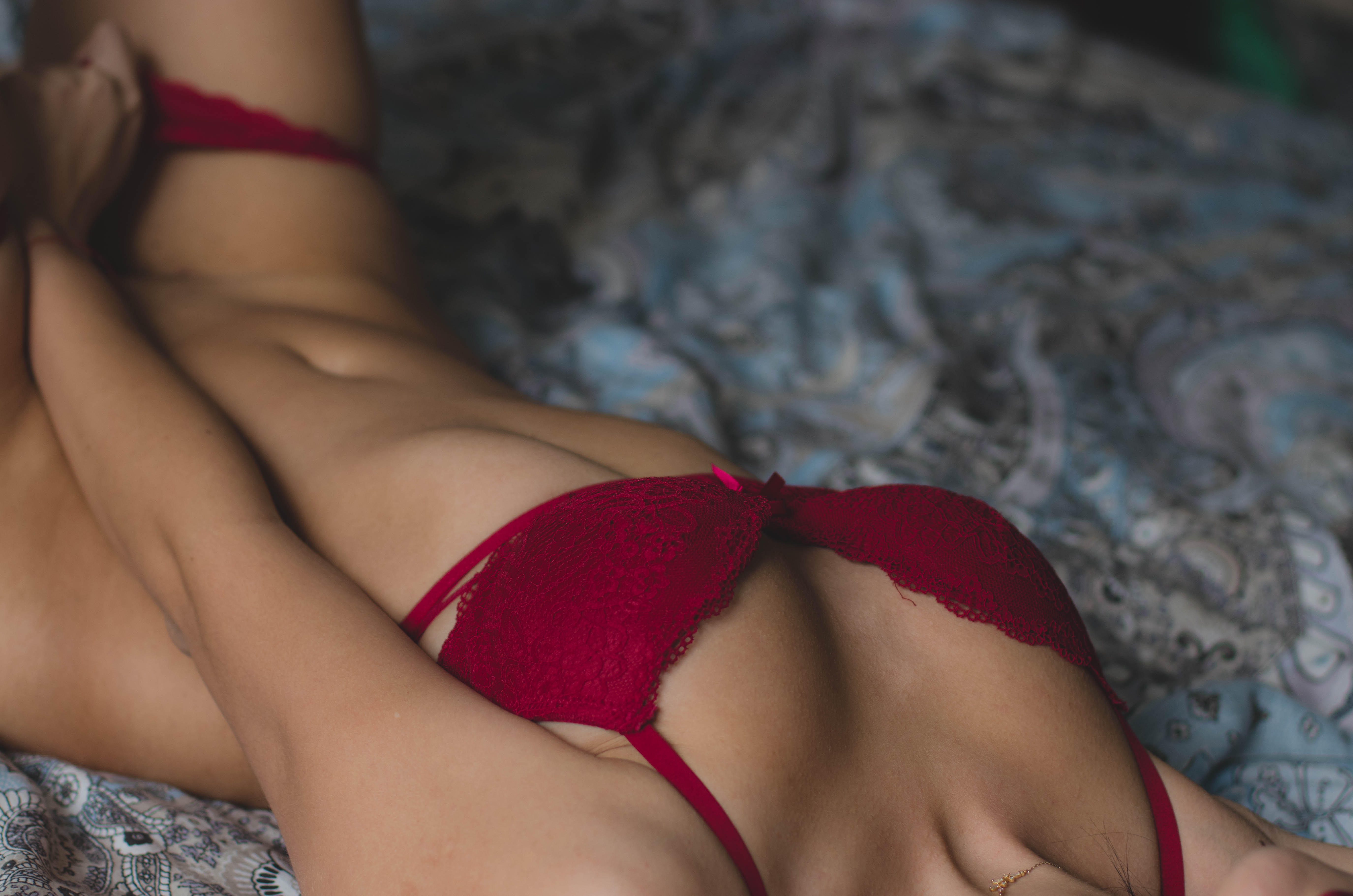 Sexy asiatische Model-Nacktheit