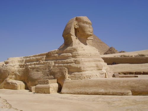 Free stock photo of great sphinx of giza
