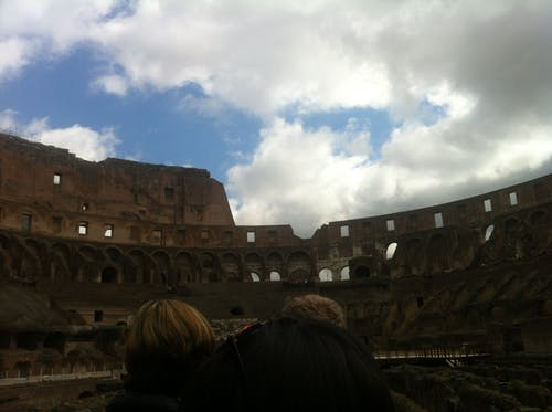 Free stock photo of Colosseum interiors, rome