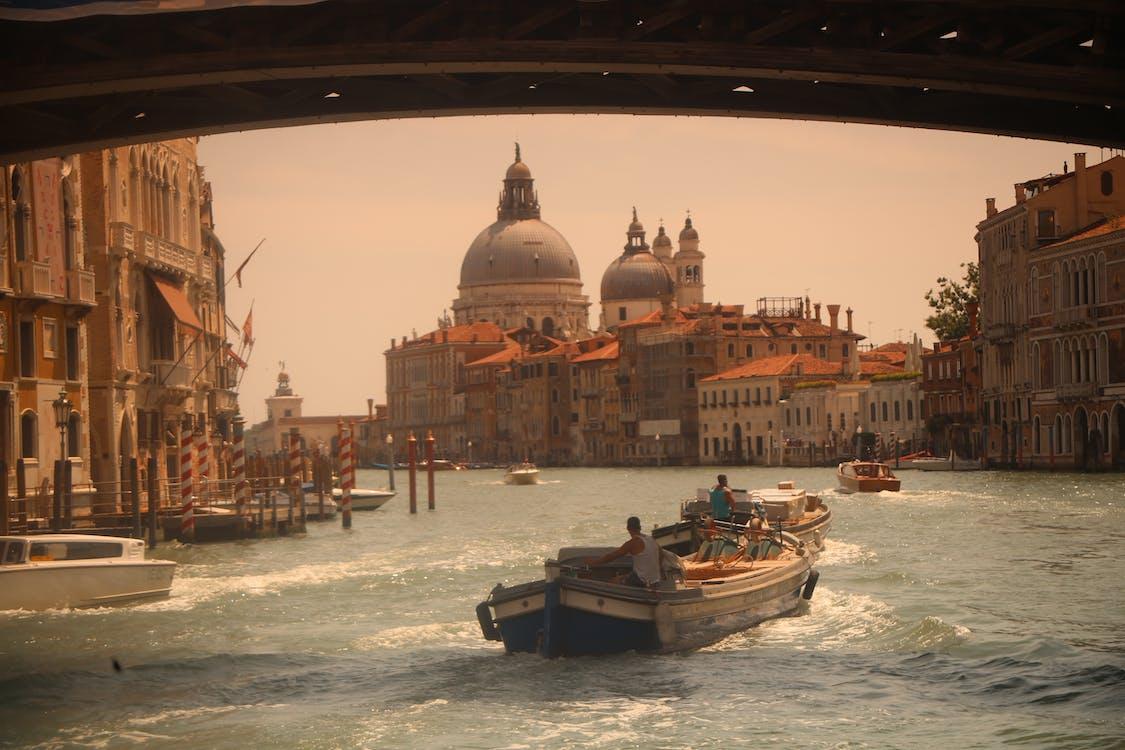 Základová fotografie zdarma na téma architektura, Benátky, budovy