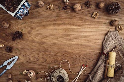 アート, キャンドル, くるみ割り人形の無料の写真素材