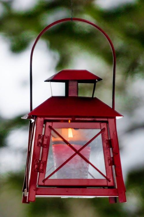 lanterne, levende lys, lys