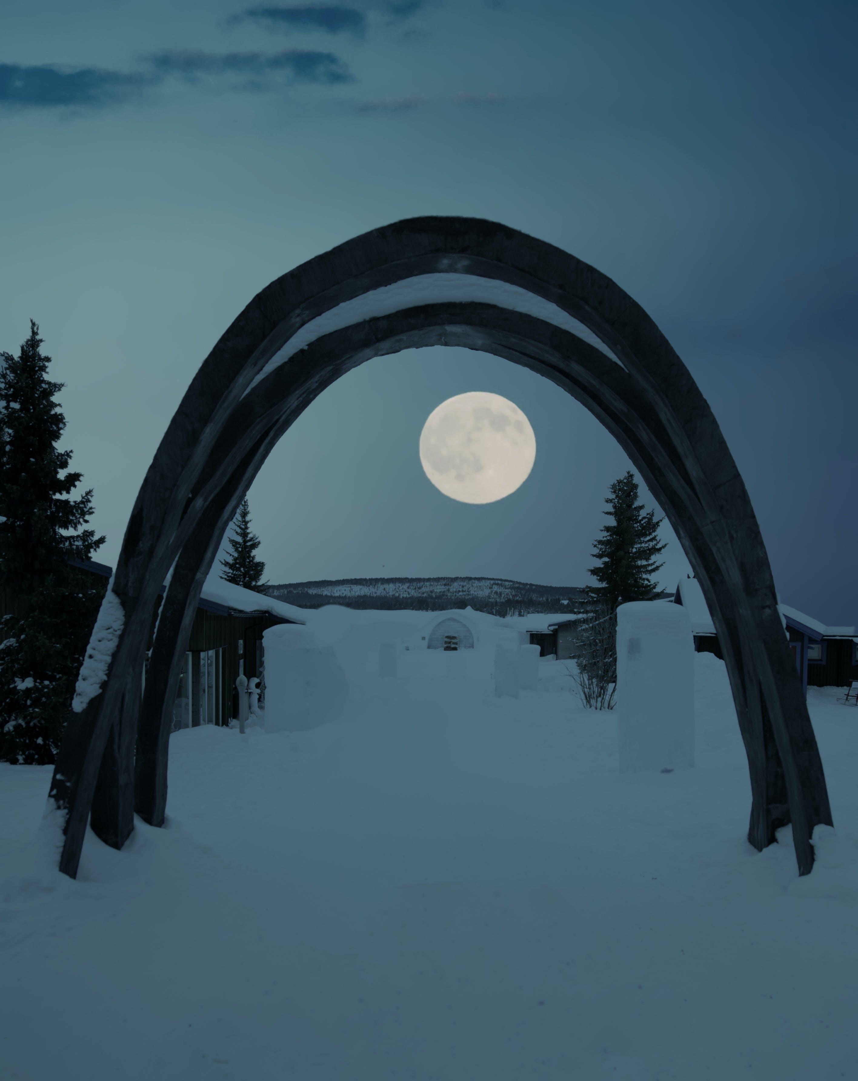Gratis lagerfoto af aften, arkitektur, buer, forkølelse
