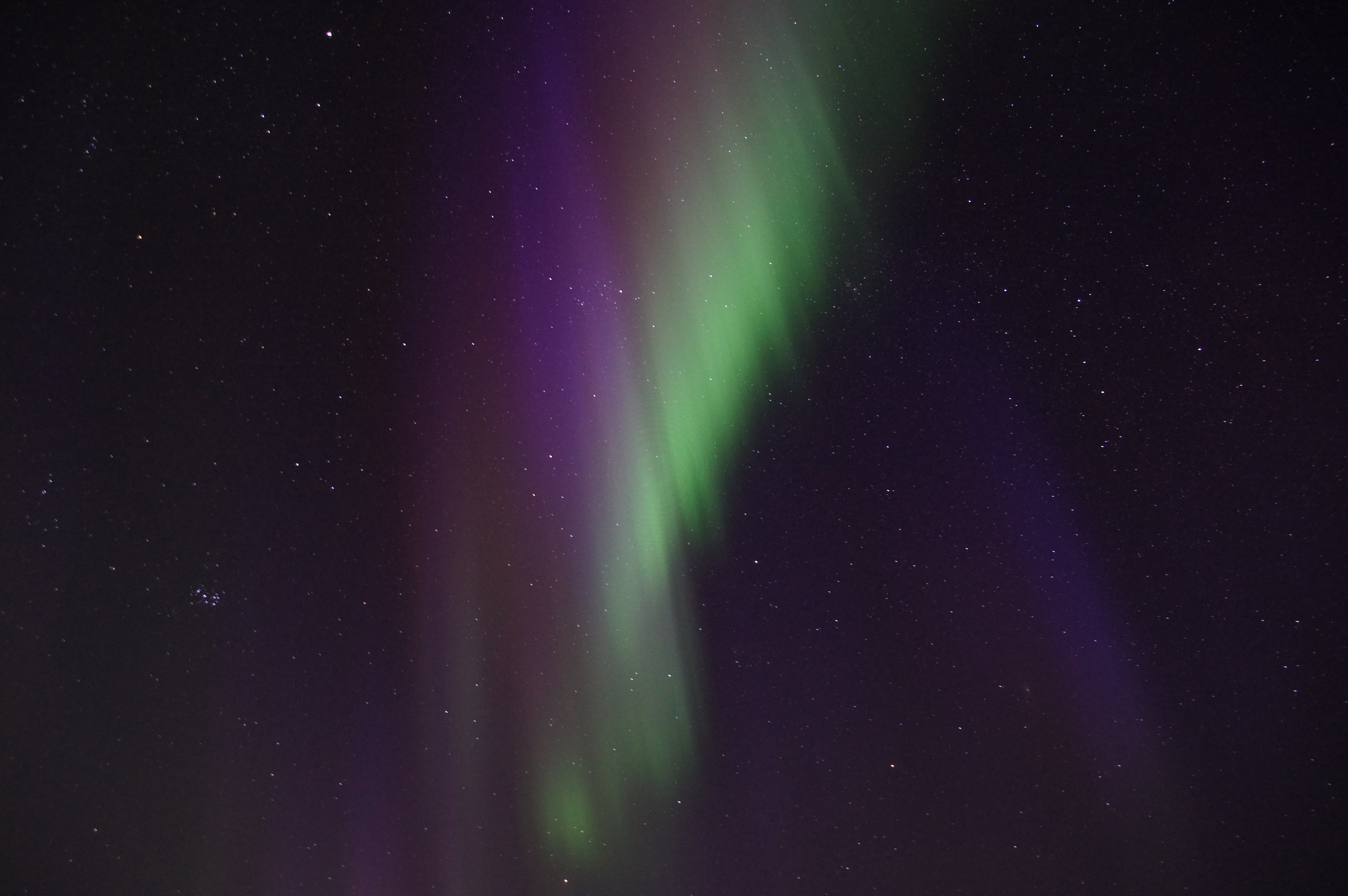 Free stock photo of winter, green, violet, aurora borealis